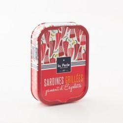 Sardines grillées au piment d'Espelette par La Perle Des Dieux