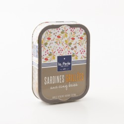 Sardines grillées aux 5 baies par La Perle Des Dieux
