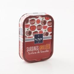 Sardines grillées au tartare de tomate par La Perle Des Dieux