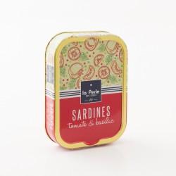 Sardines à la tomate et au basilic par La Perle Des Dieux