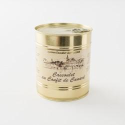 Cassoulet de Castelnaudary au confit de canard de chez Escudier en boite de 840 g