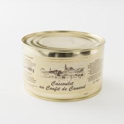 Cassoulet de Castelnaudary au confit de canard de chez Escudier en boite de 1480 g