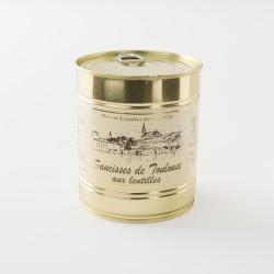 Saucisses de Toulouse aux lentilles conditionnement 840 g