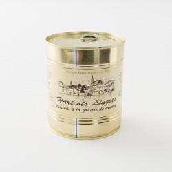 Haricots lingots cuisinés de la maison Escudier en boite de 820 g