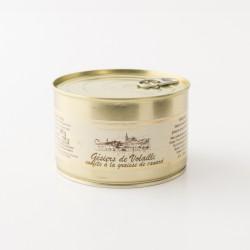 Gésier de volaille confits à la graisse de canard de la maison Escudier en boite de 380g