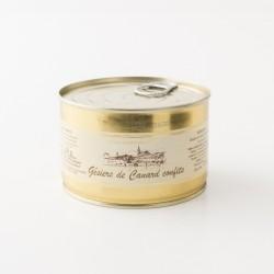 Gésier de canard confits de la maison Escudier de Castelnaudary en boite de 380g