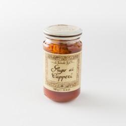 Sauce tomate aux câpres italienne La Favorita Fish en pot de 180g