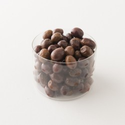 Olives noires entières La Favorita Fish détail