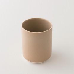 gobelet XL en grès Studio kraft de chez Jars Céramistes