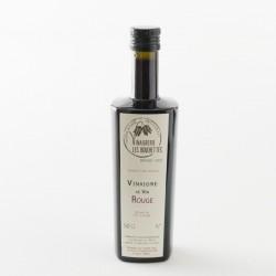Vinaigre de vin rouge gastronomique en bouteille de 0.5l