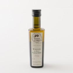 Vinaigre de vin blanc à la fleur de sureau en bouteille de 25cl