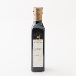 Vinaigre balsamique quintessence de l'huilerie beaujolaise en bouteille de 25 cl