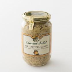Moutarde en grains Edmont Fallot en pot de 380 g