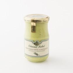 Moutarde verte à l'estragon Edmont Fallot en pot de 210g