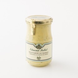 Moutarde au basilic Edmont Fallot en pot de 210g