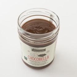 Chocobella pâte à tartiner bio Damiano au chocolat et aux noisettes détail