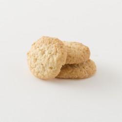 Biscuits bio à la noix de coco cuisinés par Croquelicot détail