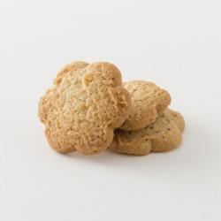 Biscuits bio citron orange douce cuisinés par Croquelicot détail