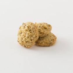 Biscuits bio au sésame cuisinés par Croquelicot détail