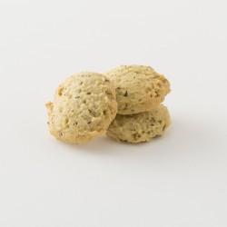 Biscuits bio au thym et au romatin cuisinés par Croquelicot détail