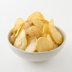 Chips artisanales Belsia au sel de l'ile de Ré en situation
