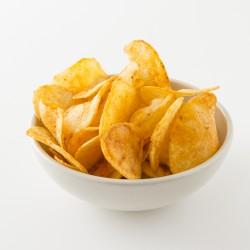 Chips artisanales Belsia au piment d'Espelette en situation