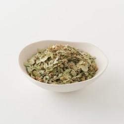 Tilleul pour tisane de chez Alveus détail des feuilles
