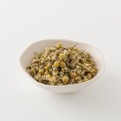 Camomille pour tisane de chez Alveus détail des feuilles