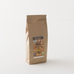Café d'orge broyé bio orgé en paquet de 800 g