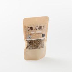 malt torréfié en grains bio grillomalt en paquet de 100 g