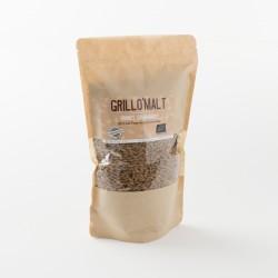 malt torréfié en grains bio grillomalt en paquet de 400 g