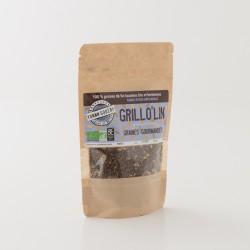 Graines de lin Grillo'lin en paquet de 100 g certifiée bio