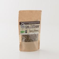Graines de chanvres torréfiées bio Grillo'chanv en paquet de 100 g