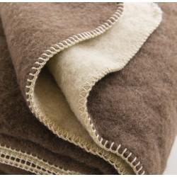 Couvertures pure laine vierge