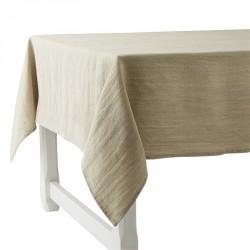 lin épais uni nappes et serviettes
