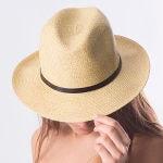 chapeaux tressés