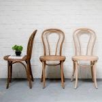 mobilier bistrot, chaise bistrot en hêtre type bois courbé