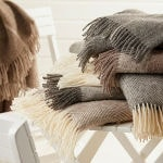Les plaids naturels laine