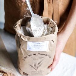 paquet de farine La Roussellerie