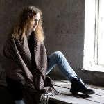 chales et ponchos en laine