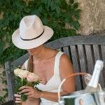 Chapeaux rose poudré pour toute l'année