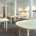 Tables de salle à manger sur mesure en multiplis de hêtre