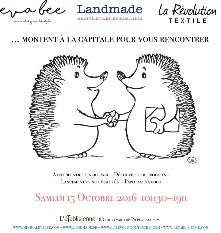 Landmade sera à Paris le 15 Octobre