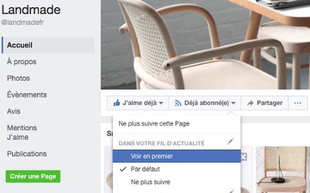 Facebook Landmade