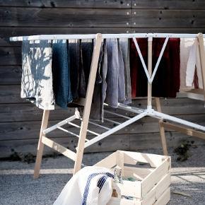 étendage et tancarville en bois