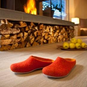 Les pantoufles en laine ultra-légères